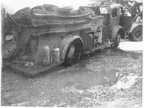 American Lafrance after fire